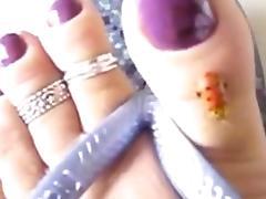 Rosa - small foot fetish