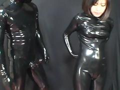 Japanese Latex Catsuit 35 tube porn video