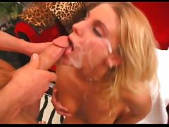 Blowjob and Massive Facial