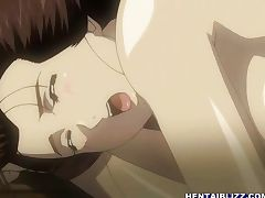 Busty Japanese hentai hot poking by ghetto ol tube porn video