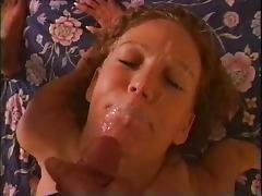 He cannot resist the cocksucking skills of the curly hair girl tube porn video