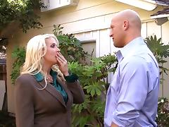 Bitchy boss Alura Jenson needs a big cock to shut up