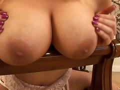 Horny blonde welcomes a big black cock deep in her tight anal