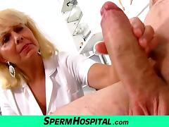 Wicked lady doctor Koko cfnm hospital handjob porn tube video