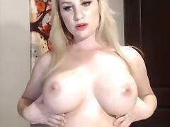 Big Tits, Big Tits, Blonde, MILF, Solo, Webcam