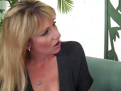 Get into wild foursome fun with three milfs and a fit guy