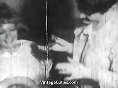 Pussy Shaving and Lesbian Lick Fest (1950s Vintage)