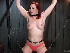 ginger bitch is all tied up right now