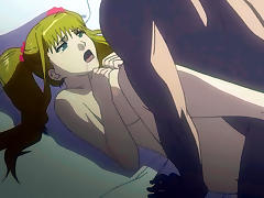 Blonde hentai girl gets fucked porn tube video
