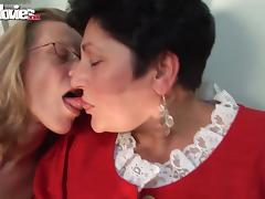 Old, Amateur, German, Granny, Horny, Lesbian