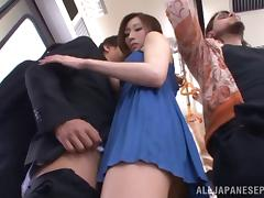 Beauty, Asian, Beauty, Blowjob, Bus, Hardcore