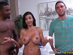 Jewels Jade Goes Black In Front Of Her Stepson porn tube video