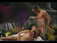 Vintage classic from porn superstars Raven and Tom Byron tube porn video