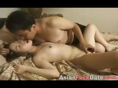 Sweet Asian Teen with Older Man tube porn video