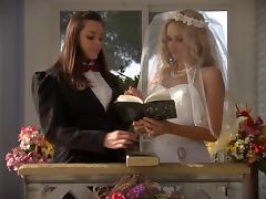 Bride, Bride, Fingering, Fucking, Lesbian, Lingerie