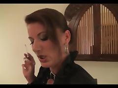 Smoking Handjob