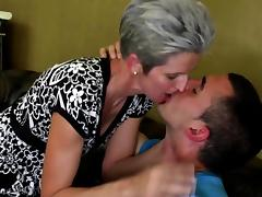 Mom and Boy, 18 19 Teens, Amateur, Blowjob, Fucking, Mature