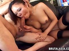 Once again Annie gets to be ass fucked by her guy porn tube video