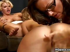 Brianna Ray, Kristen Cameron, Teagan in A closer look Video porn tube video