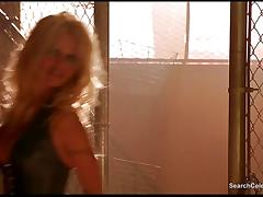 Pamela Anderson from the film Barb Wire