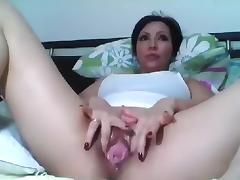 Brunette, Brunette, Masturbation, Mature, Solo, Toys