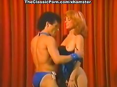 Nina Hartley, Billy Dee in wild sex in public in a hot tube porn video