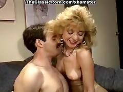 Nina Hartley, Mike Horner in sassy blonde is fucked in a tube porn video