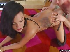 Peta Jensen rammed by a massive dick