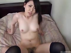 Cute Asian babe with a beautiful ass getting her tight pussy fingered tube porn video