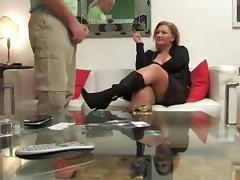 Strict Lady Milking Job tube porn video