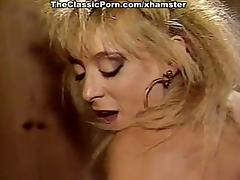 Nina Hartley, Nina DePonca, Jerry Butler in classic sex tube porn video