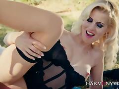 HARMONY VISION Kinky in the garden tube porn video