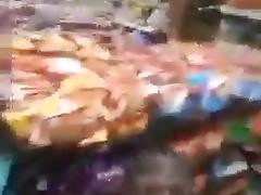 Milf fucks NIgga in a convenience store porn tube video
