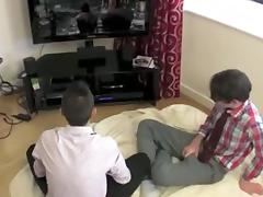 Passionate butt-fucking in gay porn big dick clip
