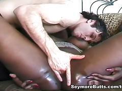 Alisha Klass & Mary Jane in Hot Interracial Threesome porn tube video