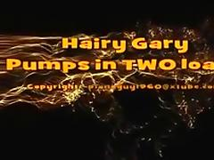 Hairy Gary Dumps 2 Loads porn tube video