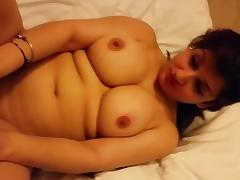 beautiful whore showing amazing boobs and curvy figure