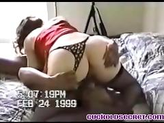 Cuckold Secrets - my wife sucking black bull fo her B-day tube porn video