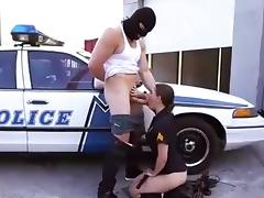 Cop, Adorable, Big Cock, Blowjob, Cop, Cum