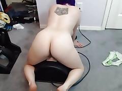 Midget, Babe, Big Tits, Machine, Midget, Orgasm