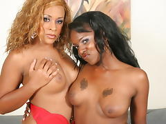Black Lesbian, Big Tits, Black, Boobs, Dildo, Ebony