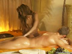 Arousing Cock Massage