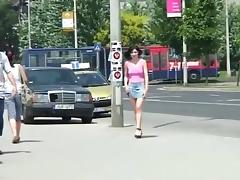 Best flashing video with public scenes 3 porn tube video