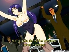 Hentai bunnygirl gets gangbanged