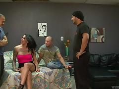 Three big far cocks is sure as hell better than just one