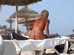 incredible beach tcheck wife tunesia topless tube porn video