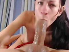 cam girl deepthoat and anal
