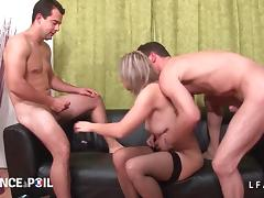 French Old and Young, Amateur, Anal, Audition, Casting, Double