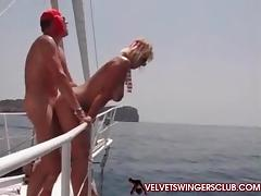Boat, Boat, Club, Couple, Cuckold, Dance