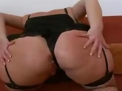 Old Blonde Bitch Fucked Hard And Cummed On porn tube video